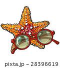 ひとで ヒトデ 海星のイラスト 28396619