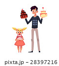 お誕生日 バースデー 誕生日のイラスト 28397216