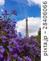 エッフェル塔 塔 空の写真 28406066