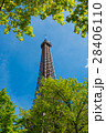 塔 エッフェル塔 空の写真 28406110