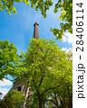 エッフェル塔 塔 空の写真 28406114