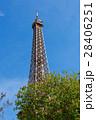 エッフェル塔 塔 空の写真 28406251