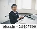 シニア オフィス 車椅子の写真 28407699