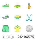 スポーツ GOLF ゴルフのイラスト 28408575