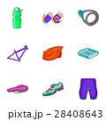 自転車 パーツ 部品のイラスト 28408643