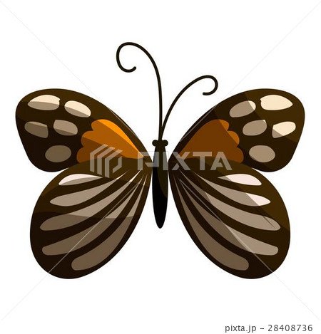 Spotted butterfly icon, cartoon styleのイラスト素材 [28408736] - PIXTA