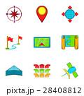 GPS アイコン ベクトルのイラスト 28408812