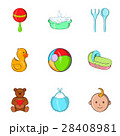 Child icons set, cartoon style 28408981