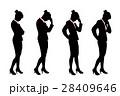 ビジネス 女性 女の子のイラスト 28409646