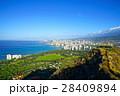 ハワイ ダイヤモンドヘッドからの眺め 28409894