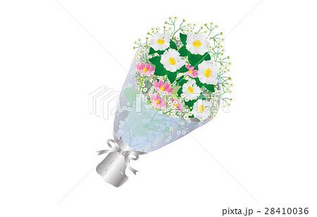 花束さざんかのイラスト素材 [28410036] - PIXTA
