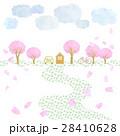 桜のある風景 28410628