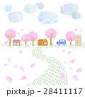 桜のある風景 28411117