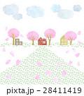 桜のある風景 28411419