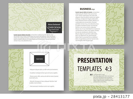 business templates presentation slides easyのイラスト素材