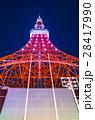 東京タワー イルミネーション ライトアップの写真 28417990