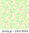 color Seamless floral pattern with tulips. Vector  28419664