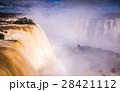 ブラジル 滝 にじの写真 28421112
