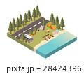 ロード キャンプ 収容所のイラスト 28424396