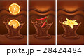 chocolate background with orange, chill, vanilla 28424484