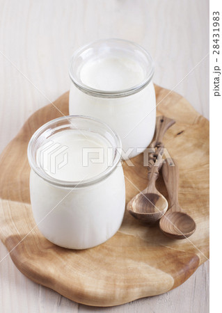 Homemade yogurの写真素材 [28431983] - PIXTA