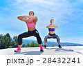 トレーニング ワークアウト 体操の写真 28432241