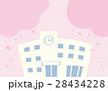 学校 高校 小学校のイラスト 28434228