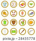 ベースボール 白球 野球のイラスト 28435778