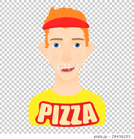Courier icon, cartoon style 28436203