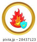 アイコン ベクトル 炸裂のイラスト 28437123