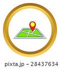 マンガ 地図 ベクトルのイラスト 28437634