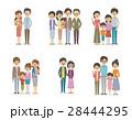 家族のセット【シンプルキャラ・シリーズ】 28444295