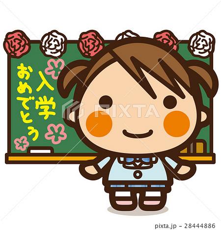 がっこうKids 入学式女子 28444886