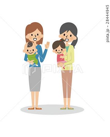 母親と赤ちゃん【シンプルキャラ・シリーズ】 28444945