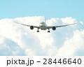 青空と飛行機 28446640