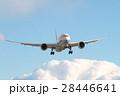 青空と飛行機 28446641