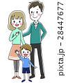 ベクター 人物 家族のイラスト 28447677