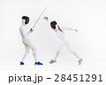 フェンシング 剣術 剣士の写真 28451291