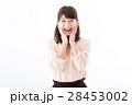 女性 若い 笑顔の写真 28453002
