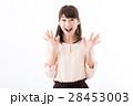 女性 若い 笑顔の写真 28453003