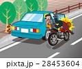 自動車のドア開き事故 28453604