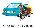 自動車のドア開き事故 28453646