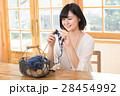 女性 手編み 編み棒の写真 28454992