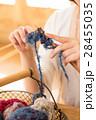 編み物をする女性 28455035