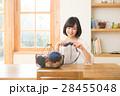 編み物をする女性 28455048