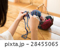 編み物をする女性 28455065