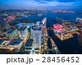 町並み 横浜 夜景の写真 28456452