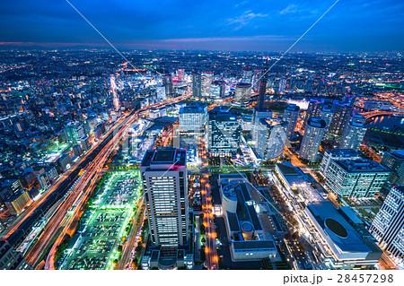 【神奈川】横浜・みなとみらいの夜景 28457298