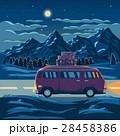 景色 風景 山のイラスト 28458386