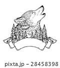おおかみ オオカミ 狼のイラスト 28458398